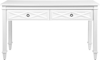 Cafe Lighting Plantation Console Table White