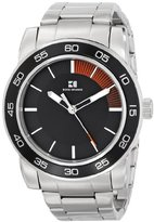 HUGO BOSS BOSS Orange Men's 1512859 Canon Ball Analog Display Quartz Silver Watch