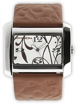 Rockwell Time Women's VN104 Vanessa Brown Patent Leather with White Watch