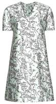 Balenciaga Printed silk-blend dress