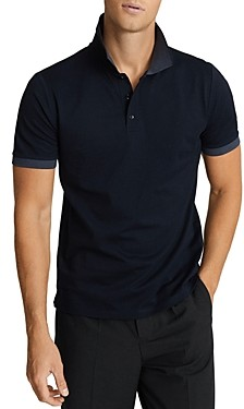 Reiss Slim Fit Filipo Contrast Polo