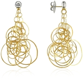 Orlando Orlandini Scintille - Diamond 18K Gold Drop Earrings