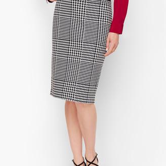 Talbots Jacquard Pencil Skirt