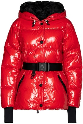 MONCLER GRENOBLE Fenis hooded down jacket