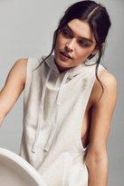 Calvin Klein Sleeveless Hoodie Sweatshirt