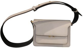 Marni Trunk Grey Leather Handbags