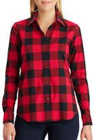 Chaps Petite Jamie Cotton Button-Down Shirt