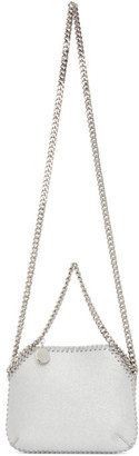 Stella McCartney Silver Mini Falabella Shoulder Bag