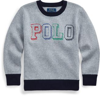 Ralph Lauren Logo Cotton Sweater
