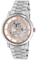 Kenneth Cole Mens Silvertone and Rose Goldtone Stainless Steel Watch