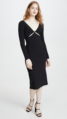 Bec & Bridge Ulla Cut Out Midi Dress
