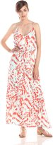 Townsen Women's Extinct Printed Maxi Dress