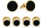 Asstd National Brand Formal Onyx Set of 4 Shirt Studs and Cuff Links