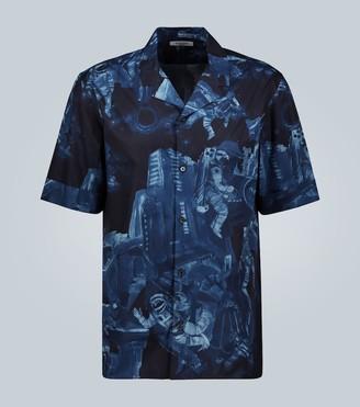 Valentino Infinite City short-sleeved shirt