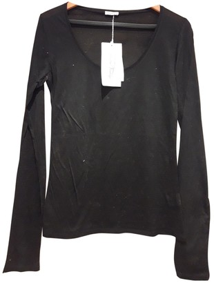 American Vintage Black Cotton Top for Women