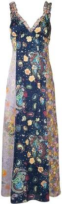 M Missoni Floral-Print Maxi Dress