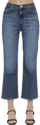 J Brand JULIA CROPPED COTTON JEANS