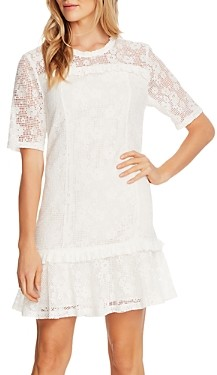 CeCe Floral Lace Mini Dress