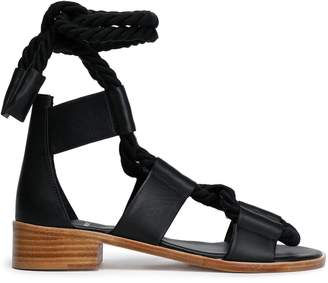 Pierre Hardy Lace-up Leather Sandals