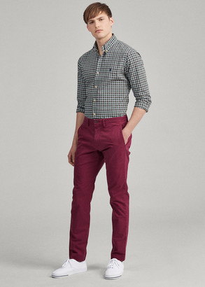 Ralph Lauren Stretch Straight Fit Chino Pant