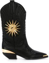 Fausto Puglisi embellished western boots
