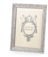 "Bloomingdale's Olivia Riegel Crystal Pavé Frame, 5"" x 7"""