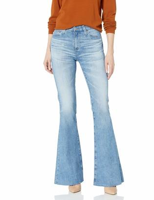 AG Jeans Women's QUINNE HIGH Rise Flare Leg Jean