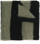 McQ striped scarf