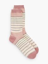 Talbots Stripe Trouser Socks