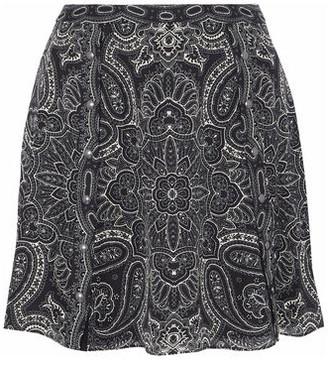 Haute Hippie Knee length skirt
