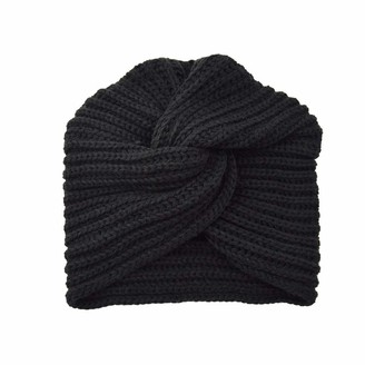 Tuopuda Baby Hat Scarf Set Boys Girls Winter Hat Knitted Hat Baby Hat Beanie Hat Loop Scarf Toddler Earflap Beanie Thick Knit Hat Soft Warm for Autumn Winter Plain Colour