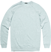 Denham Jv Raglan Sleeve Crew Neck Stretch Cotton Jumper Cfj