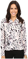 Ivanka Trump Printed Georgette Blouse