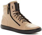 Kenneth Cole Reaction Stay Tuned Lace-Up Leather Sneaker