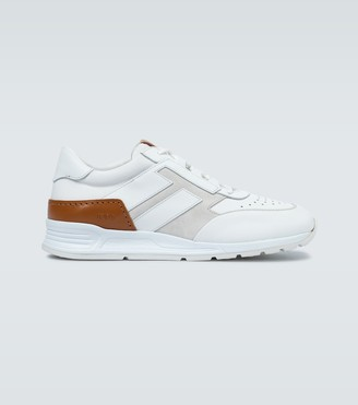 Tod's Allaciato leather sneakers