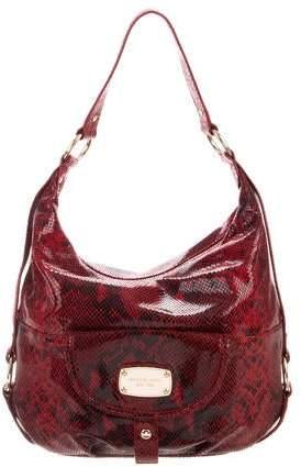 f2cad883d192 Embossed Leather Shoulder Bag