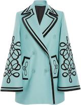 Elie Saab Bell Sleeve Coat