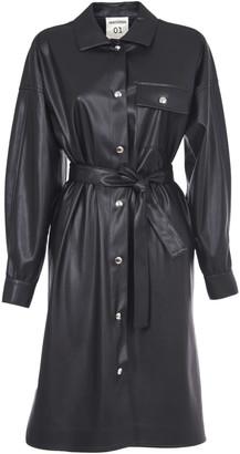 Semi-Couture SEMICOUTURE Black Shirt Dress