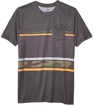 GROM Kids Tailslide Knit Tee Short Sleeve (Little Kids/Big Kids) (Camo) Boy's Clothing