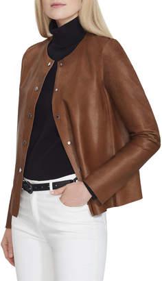 Lafayette 148 New York Leo Calf Hair Jacket