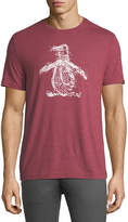 Original Penguin Fingerprint Pete Graphic T-Shirt