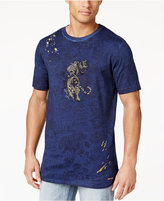 Sean John Men's Embroidered Tiger T-Shirt, Only at Macy's
