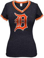 5th & Ocean Women's Detroit Tigers Triple Flock T-Shirt