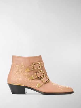 Chloé Susanna buckle 30mm ankle boots