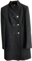 Dondup Anthracite Wool Coat for Women