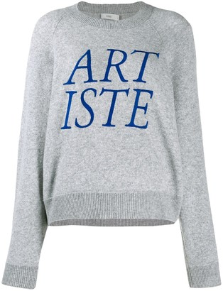 Closed Artiste embroidered sweater