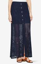 BCBGMAXAZRIA Harper Lace Maxi Skirt