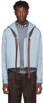 Lanvin Blue Short Jacket