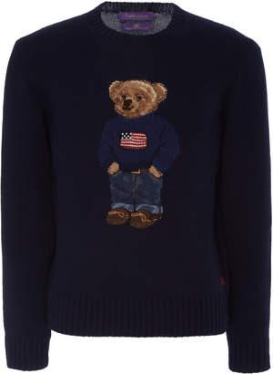 Ralph Lauren Intarsia Cashmere Sweater Size: S