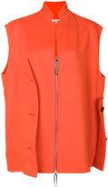 Marni asymmetric gilet jacket